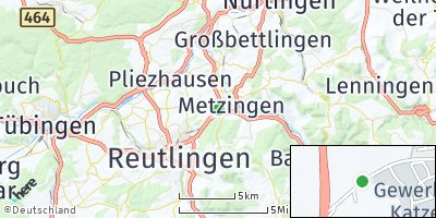 Google Map of Metzingen