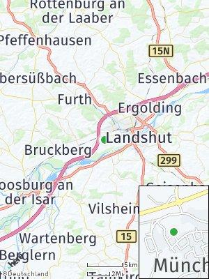 Here Map of Münchnerau