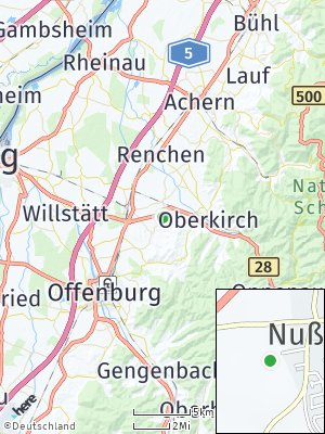 Here Map of Nußbach