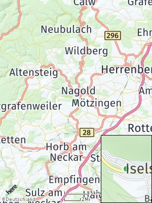 Here Map of Iselshausen