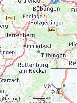 Here Map of Hailfingen