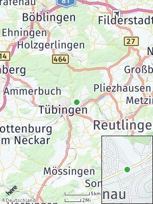 Here Map of Lustnau
