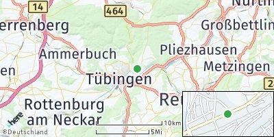 Google Map of Lustnau