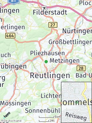 Here Map of Rommelsbach