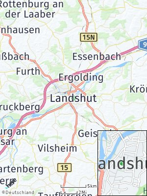 Here Map of Landshut