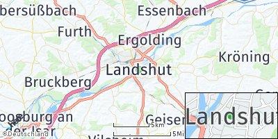 Google Map of Landshut