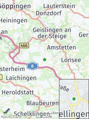 Here Map of Nellingen