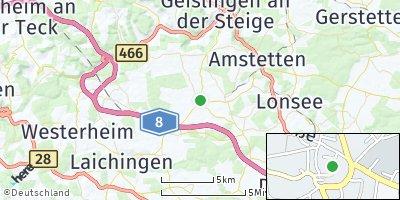 Google Map of Nellingen
