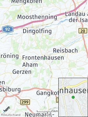 Here Map of Frontenhausen