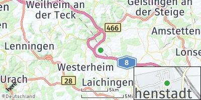Google Map of Hohenstadt
