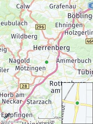 Here Map of Gäufelden