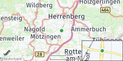Google Map of Gäufelden