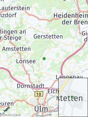 Here Map of Weidenstetten