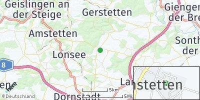 Google Map of Weidenstetten