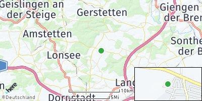 Google Map of Neenstetten