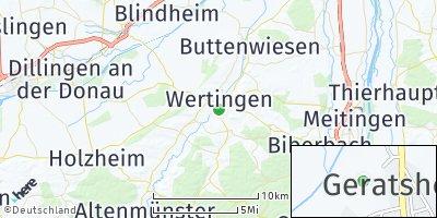 Google Map of Wertingen