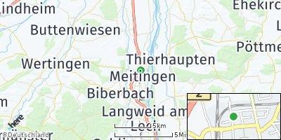 Google Map of Meitingen