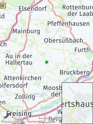 Here Map of Hörgertshausen