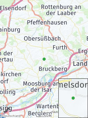 Here Map of Gammelsdorf