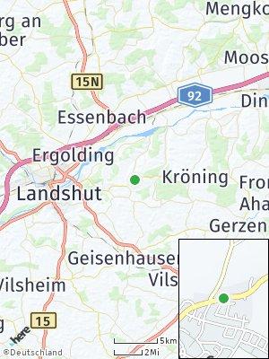 Here Map of Adlkofen bei Landshut