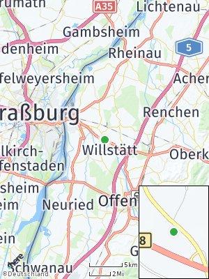 Here Map of Odelshofen