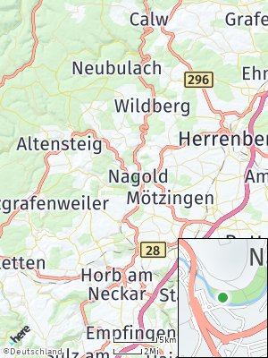 Here Map of Nagold