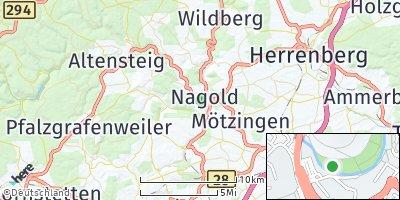 Google Map of Nagold