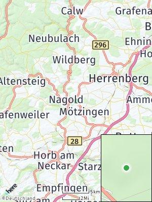 Here Map of Hof Waldeck