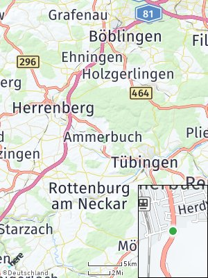 Here Map of Ammerbuch