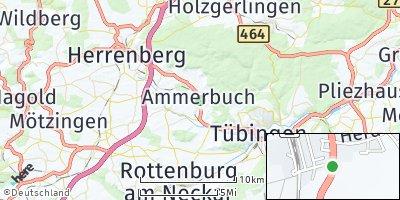 Google Map of Ammerbuch