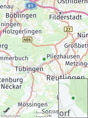 Here Map of Pfrondorf