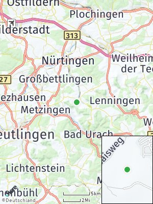 Here Map of Neuffen