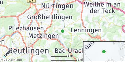 Google Map of Neuffen
