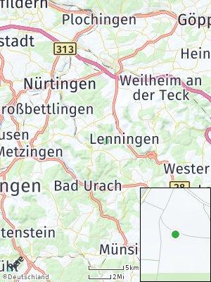 Here Map of Erkenbrechtsweiler
