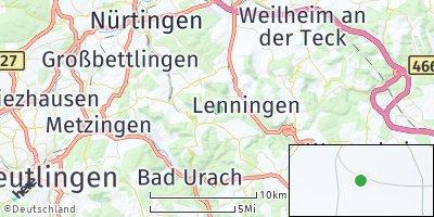 Google Map of Erkenbrechtsweiler