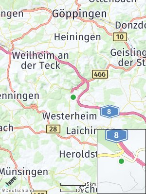 Here Map of Wiesensteig