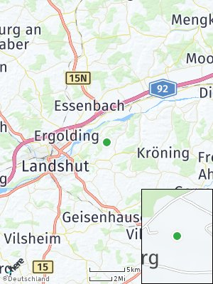 Here Map of Frauenberg