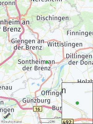 Here Map of Medlingen