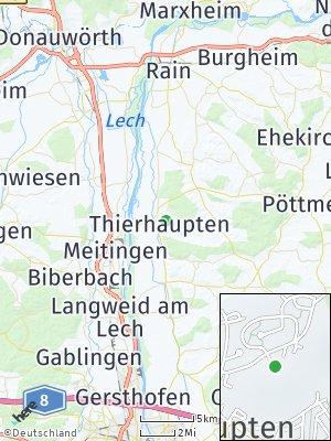 Here Map of Thierhaupten