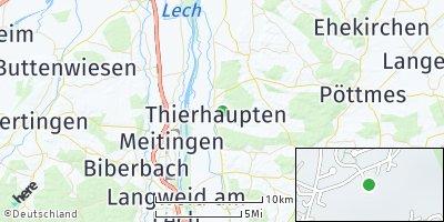 Google Map of Thierhaupten
