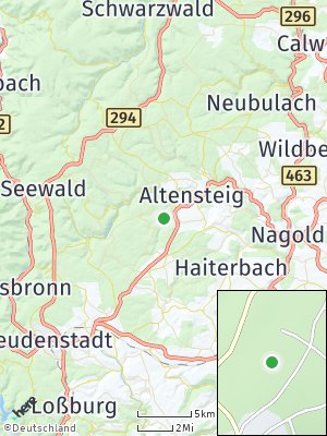 Here Map of Wörnersberg