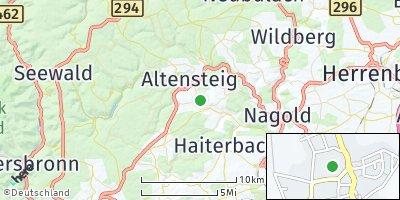 Google Map of Egenhausen