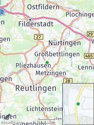 Here Map of Bempflingen
