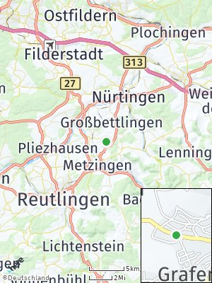 Here Map of Grafenberg