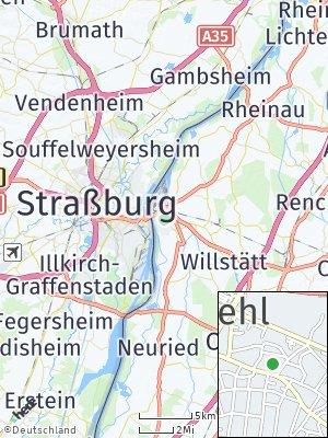 Here Map of Kehl