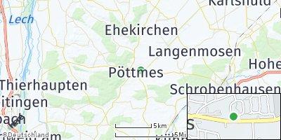 Google Map of Pöttmes