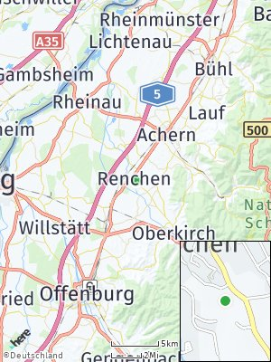 Here Map of Renchen