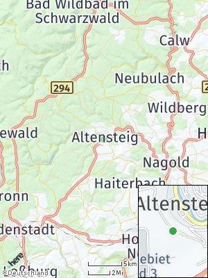 Here Map of Altensteig