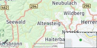 Google Map of Altensteig