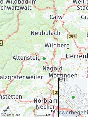 Here Map of Ebhausen
